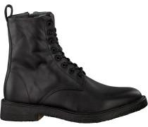 Schwarze Blackstone Ankle Boots Ql56