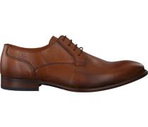 Cognacfarbene Van Lier Business Schuhe 1859100