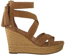 cognac UGG shoe Raquel