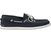 Blaue Ugg Mokassins Beach Moc Slip-on