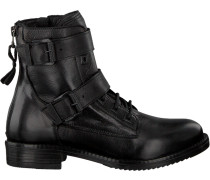 Schwarze Omoda Biker Boots 182K Sole Kira