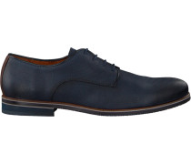 Blaue Van Lier Business Schuhe 1915611