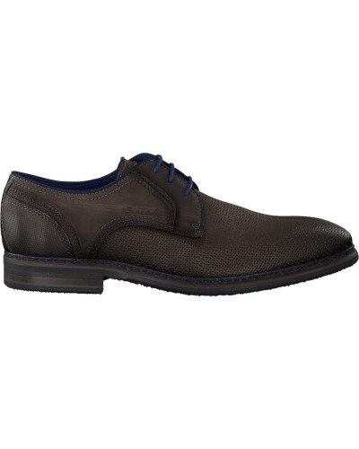 Graue Braend Business Schuhe 15545