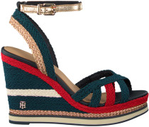 Blaue Espadrilles Corporate Wedge Sandal Sporty