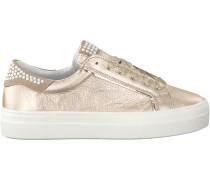 Goldfarbene Omoda Sneaker O1234