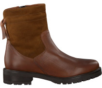 Cognacfarbene Omoda Ankle Boots 44535