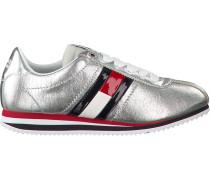 Silberne Sneaker Tommy Jeans Retro Sneaker