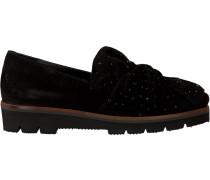 Schwarze Maripe Slipper 25052