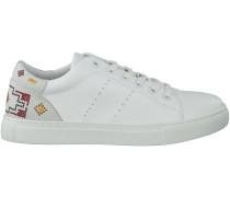 Weiße Lola Cruz Sneaker 302Z04Bk