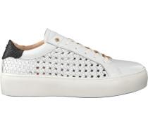 Weiße Fred de la Bretoniere Sneaker 101010051