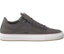 Graue Nubikk Sneaker Julien Miele Lizard II