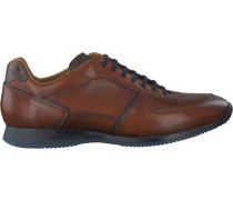 Cognacfarbene Van Bommel Sneaker 16192
