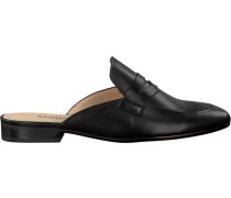 Schwarze Gabor Loafer 481.1