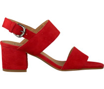 Rote Lamica Sandalen Awey