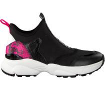 Schwarze Michael Kors Sneaker Low Willow Slip On