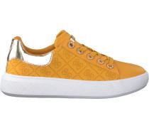 Gelbe Guess Sneaker Bucky