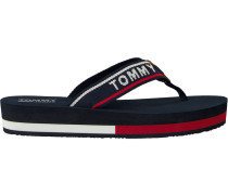 Blue shoe Tommy Jeans MID Beach Sandal
