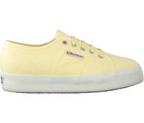 Gelbe Superga Sneaker 2730 Cotu