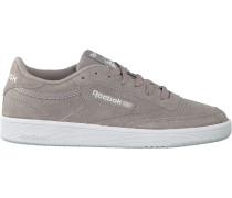 Graue Reebok Sneaker Club C 85