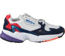 Weiße Adidas Sneaker Falcon Wmn