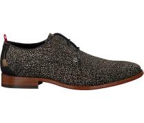 Schwarze Rehab Business Schuhe Greg Tile