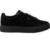 Schwarze Tommy Hilfiger Sneaker En0En00344