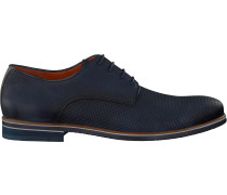 Blaue Van Lier Business Schuhe 1855600