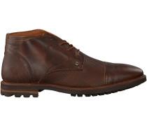 Braune Rehab Business Schuhe Mike