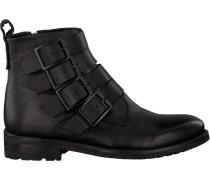 Schwarze Blackstone Ankle Boots Ql10