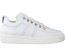 Weiße Nubikk Sneaker Yeye Maze
