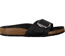 Black Birkenstock Papillio Shoe Madrid Big Buckle