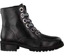 Schwarze Steve Madden Ankle Boots Lindia Ankleboot