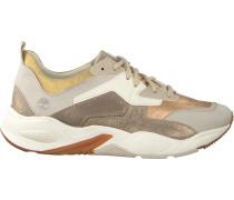 Goldfarbene Sneaker Delphiville Leather Sneaker DE