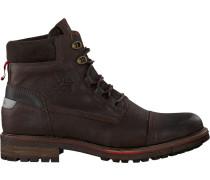 Braune Ankle Boots Newea High TMB M