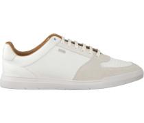 Weiße Hugo Sneaker Cosmo_ten_mx