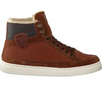 Cognacfarbene Mcgregor Sneaker Bakersfield