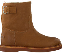 Cognacfarbene Shabbies Ankle Boots 181020054