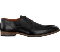 Schwarze Van Lier Business Schuhe 1919100