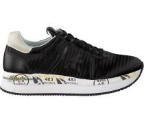 Schwarze Premiata Sneaker Low Conny