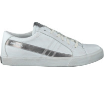 Weiße Diesel Sneaker D-String LOW