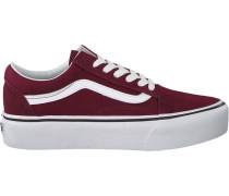 Rote Vans Sneaker OLD Skool Platform OLD Skool P