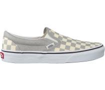 Silberne Vans Sneaker Low Ua Classic Slip On Wmn