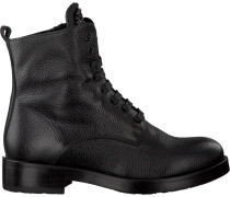 Schwarze Tosca Blu Shoes Schnürstiefel Sf1710S199
