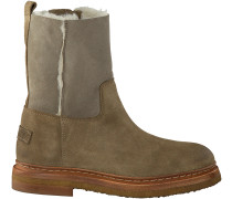 Taupe Shabbies Ankle Boots 181020034