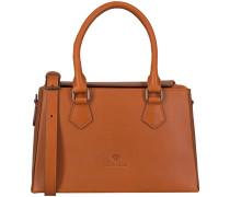 Cognacfarbene Handtasche 212010016