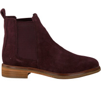Rote Clarks Chelsea Boots Clarkdale Arlo