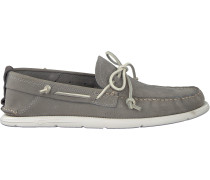 Graue UGG Mokassins Beach Moc Slip-on