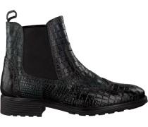 Schwarze Omoda Chelsea Boots 73B-003