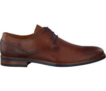 Cognacfarbene Van Lier Business Schuhe 1915314
