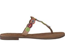 taupe Lazamani shoe 75.554